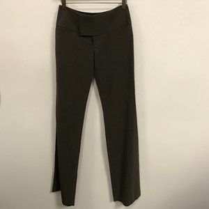 NWT Alvin Valley Brown Chic Flare Leg Dress Pants